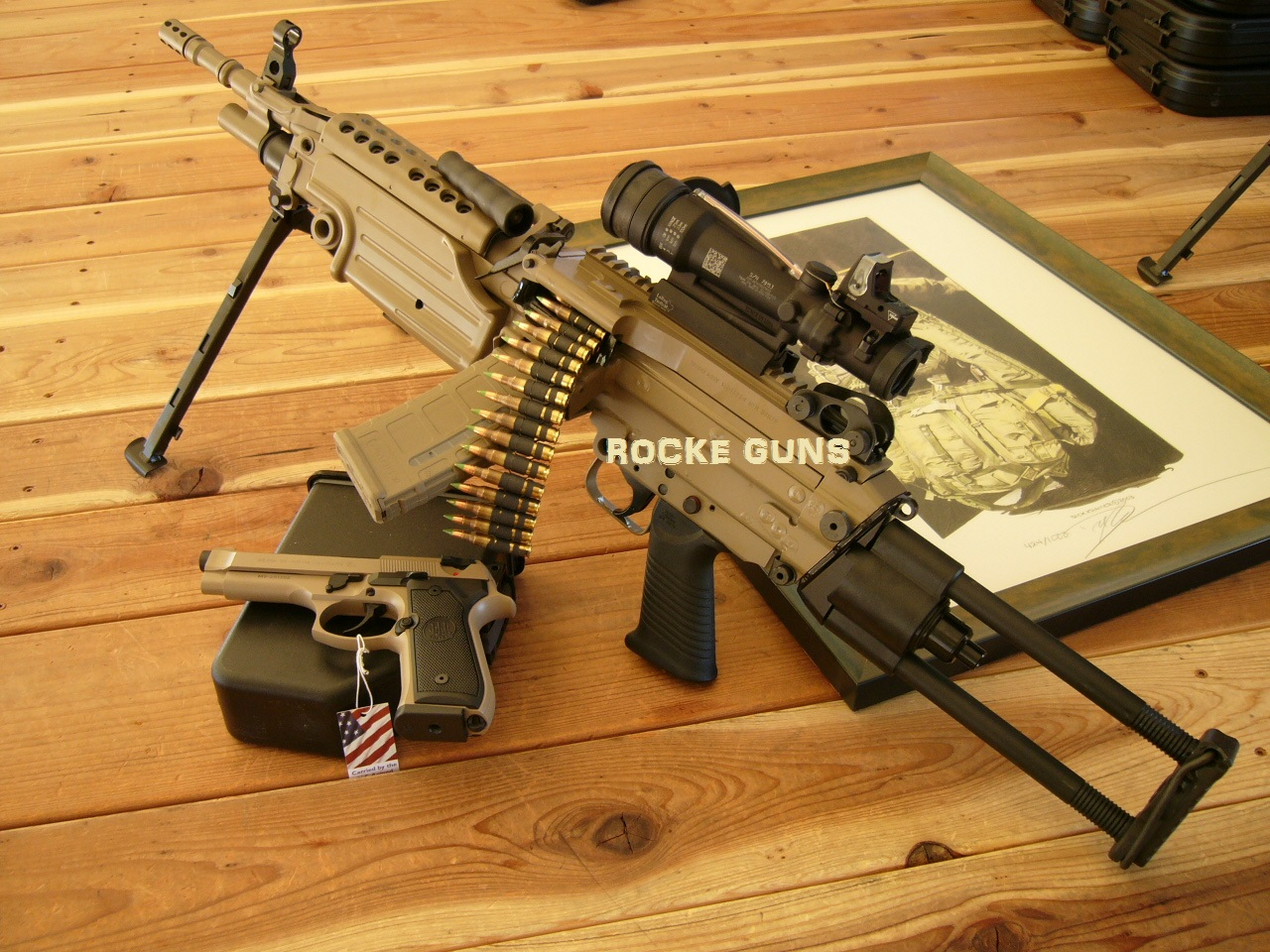 pkg machine gun