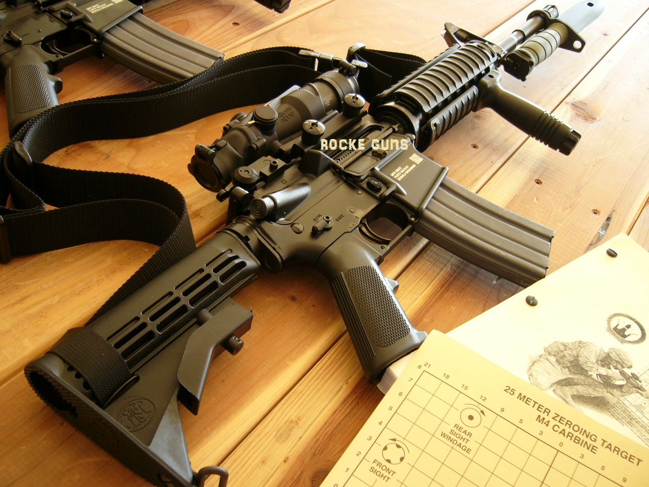 Us Army Issue M4 Deployment Pkg Civvie Legal Rocke Guns
