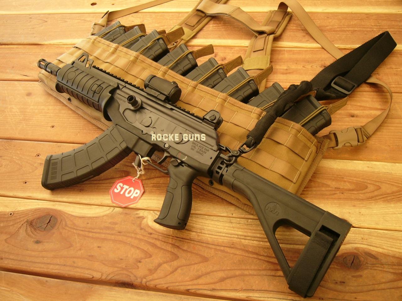 Galil Ace Pistol W Folding Stock 7 62 X 39 Russian