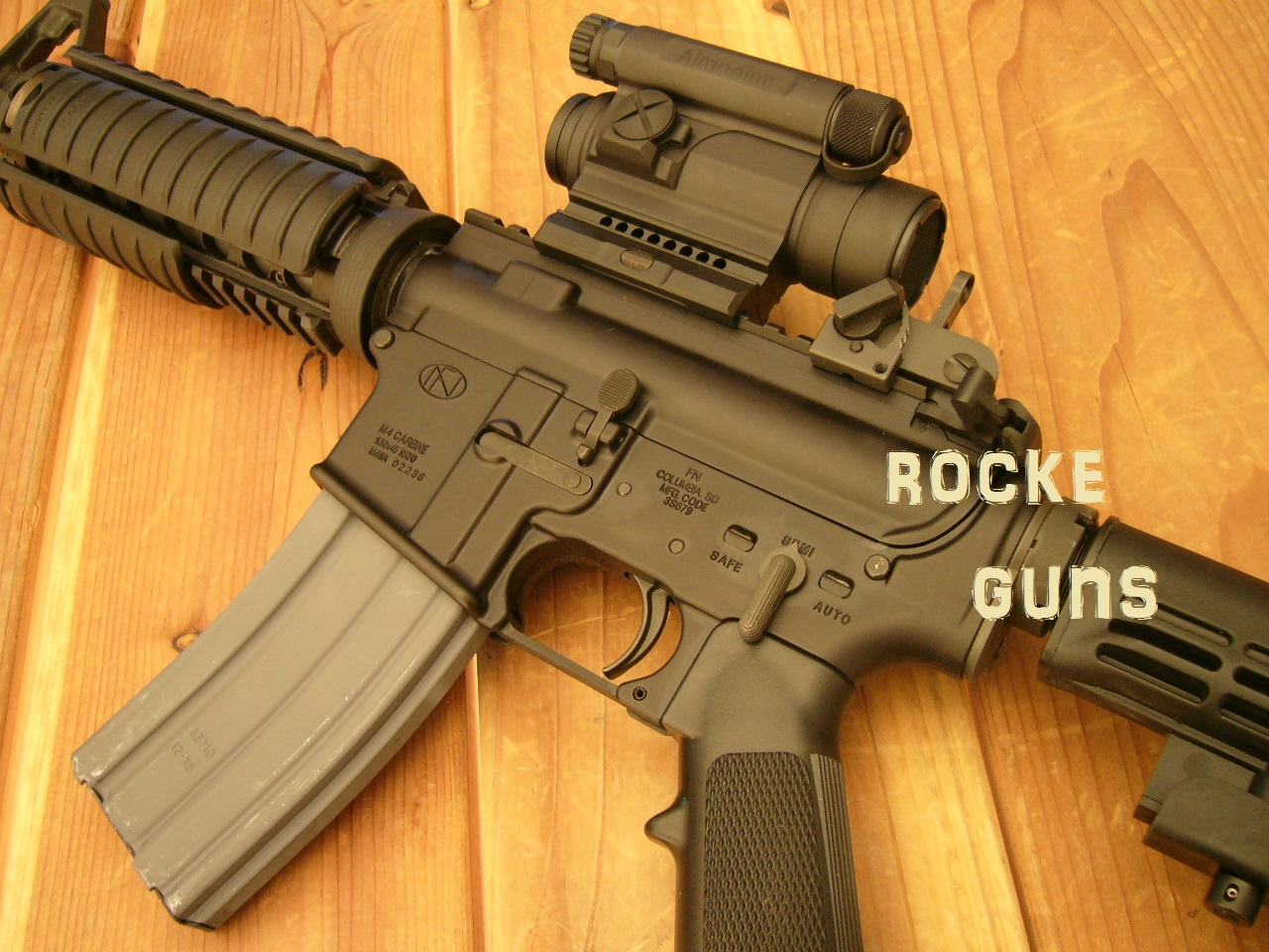 military issue m4 carbine package civilian legal rocke guns