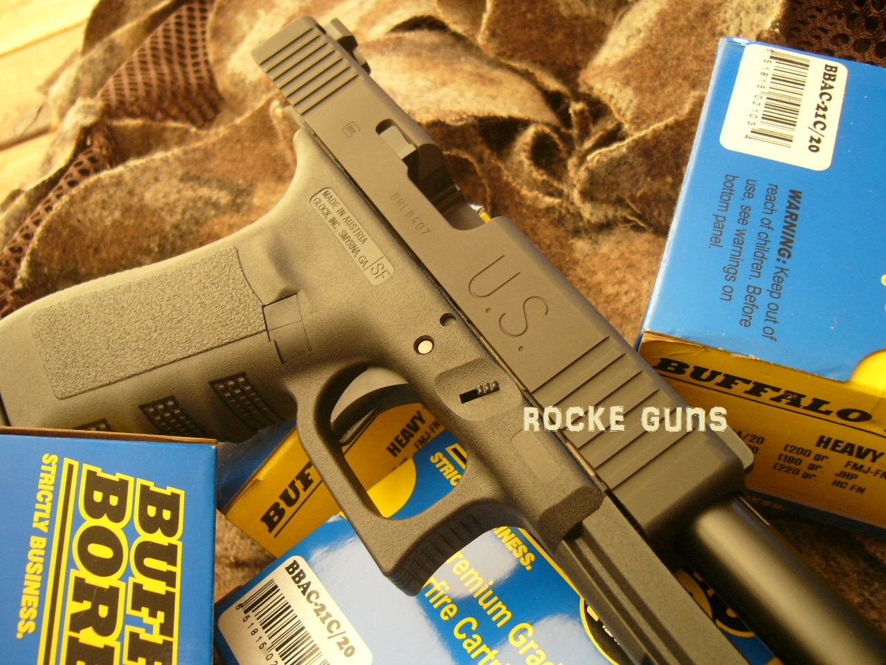 GLOCK G20C COMPENSATED 10MM TMT UPGRADED