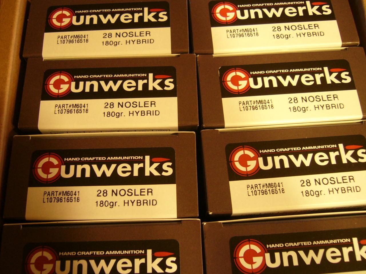 2019 GUNWERKS CLYMR 28 NOSLER SWAROVSKI ALL OPTIONS W/ AMMO+BIPOD