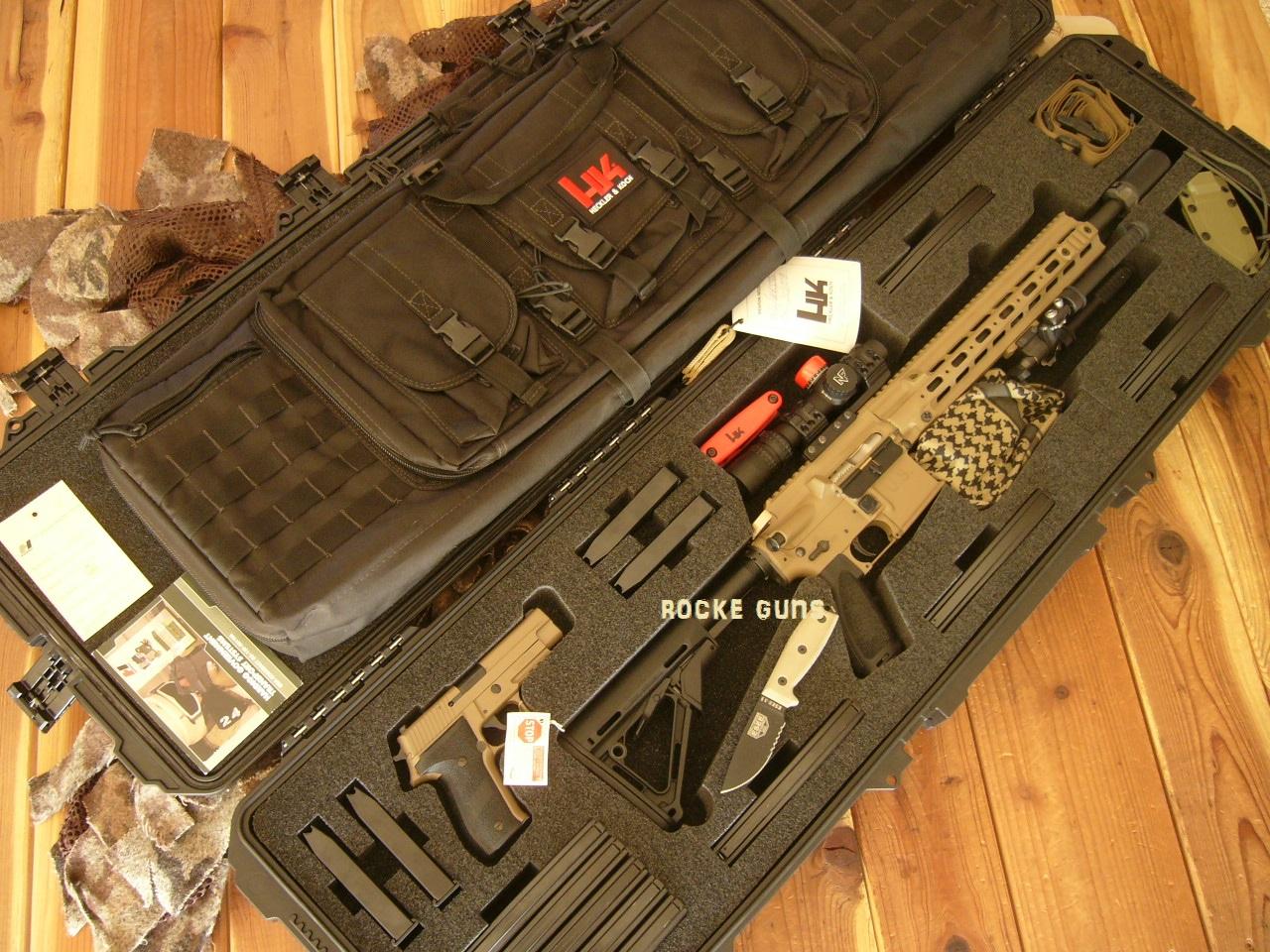 SEAL DEPLOYMENT HK 416 MR556 PKG COMPLETE ISSUE