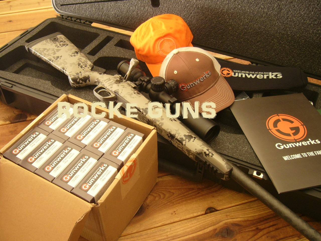 2019 GUNWERKS CLYMR 28 NOSLER SWAROVSKI 3-18 X 50 CUSTOM ORDER