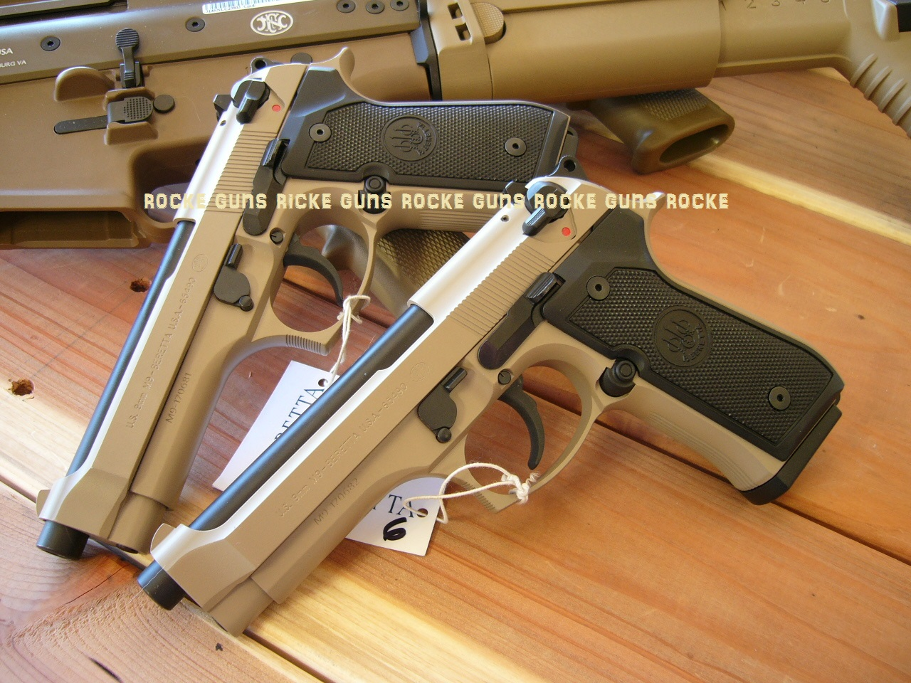 ranger beretta issue single m9 package w sand mags issue case